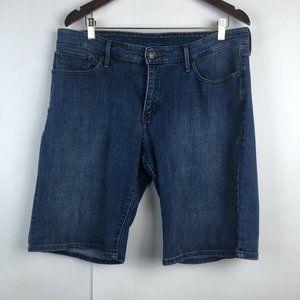 Levi's Plus Size Bermuda Denim Jean Shorts